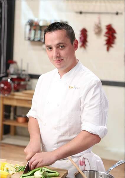 Christophe Pirotais, 28 ans, Saint-Jorioz, Chef du restaurant Comptoir du Lac, Hôtel du Clos Marcel