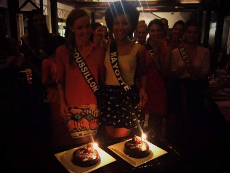 Au Sri Lanka, les anniversaires des Miss sont célébrés !