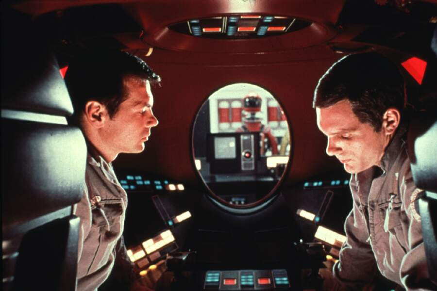 9- 2001, l'odyssée de l'espace (1968) de Stanley Kubrick