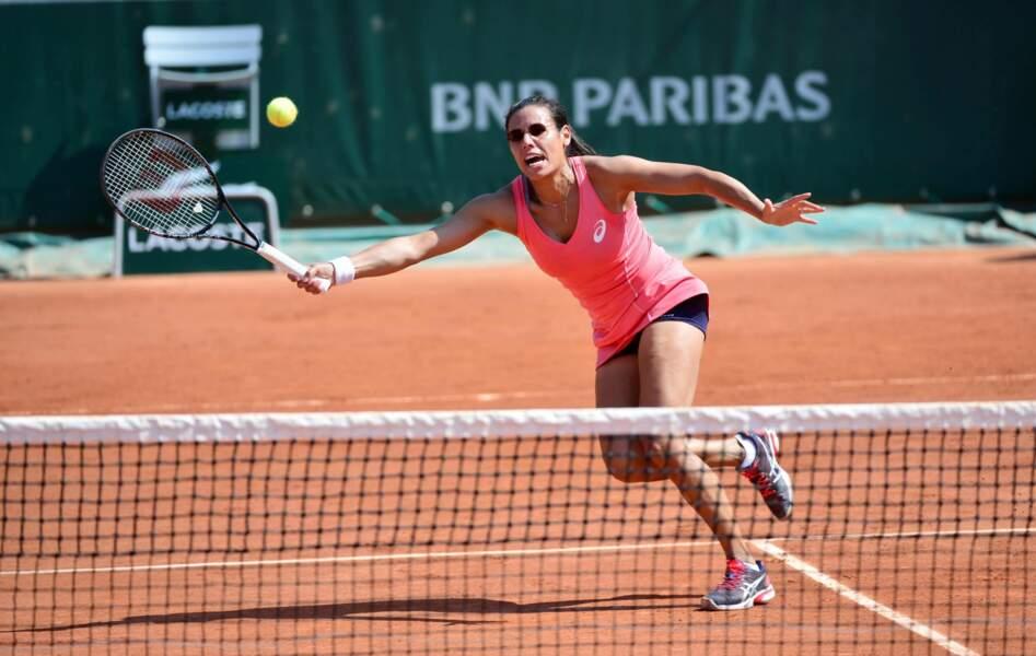 Sans doute aveuglée par le talent de son adversaire, la frenchy Stéphanie Foretz-Gacon s'est inclinée (6-3, 6-0)