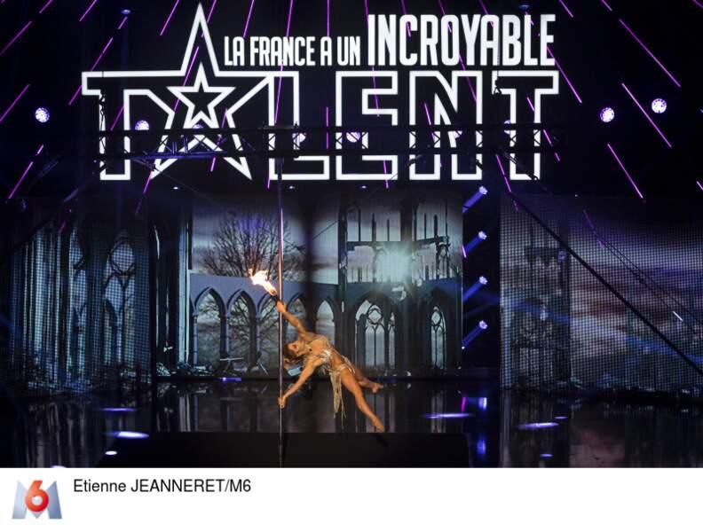 Keelin Ashton, reine de la pole dance, ira-t-elle en finale ?