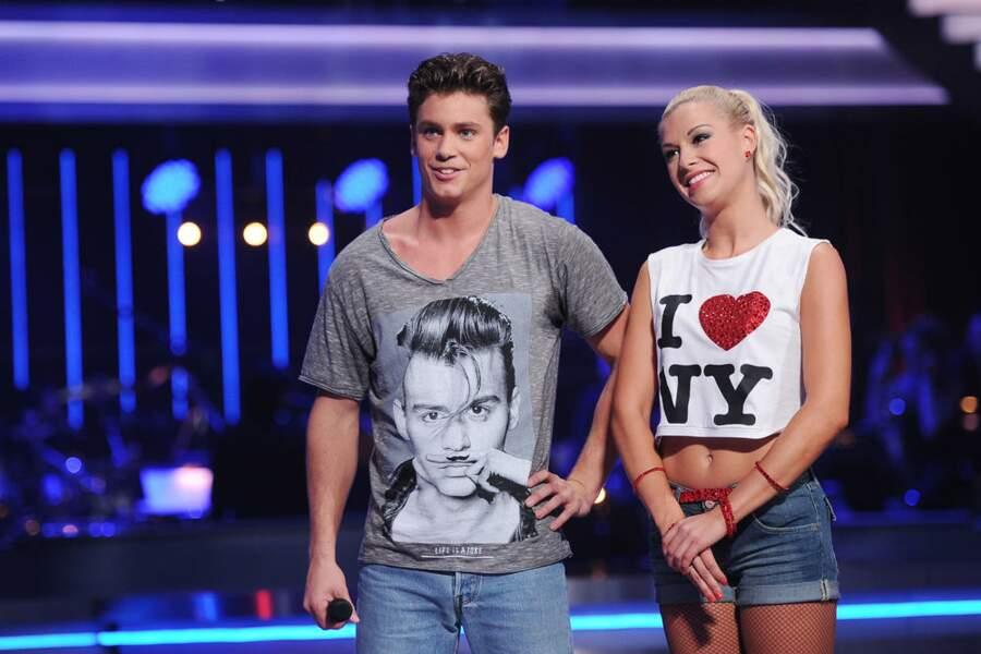 et il obtient 58 point attribué par le jury de Danse avec les stars !