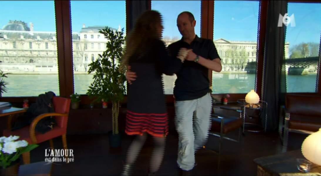 Miguel n'est pas du tout à l'aise : danse + speed-dating, ça fait beaucoup !
