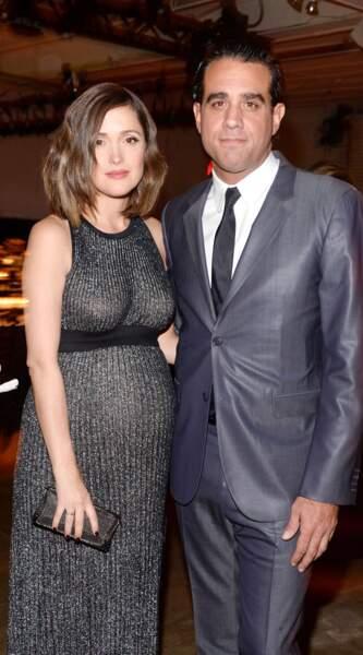 Idem pour l'actrice Rose Byrne et son époux Bobby Cannavale.