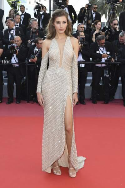 Valery Kaufman à la côture du Festival de Cannes