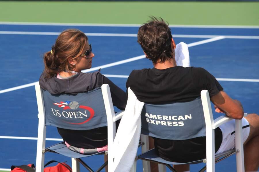 Mirka Federer, jamais loin de son Roger