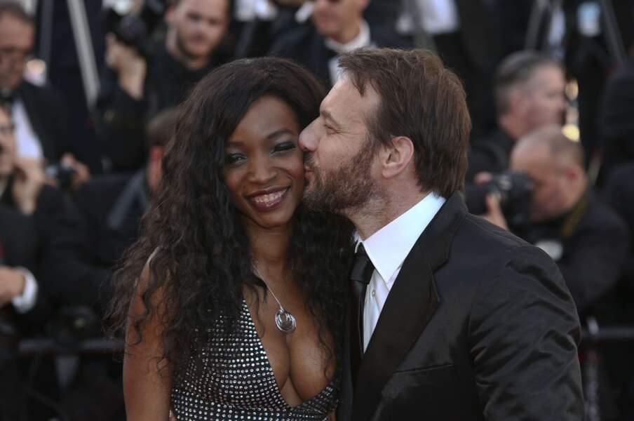 L'acteur Samuel Le Bihan et Daniela Beye, mariés depuis 2002.