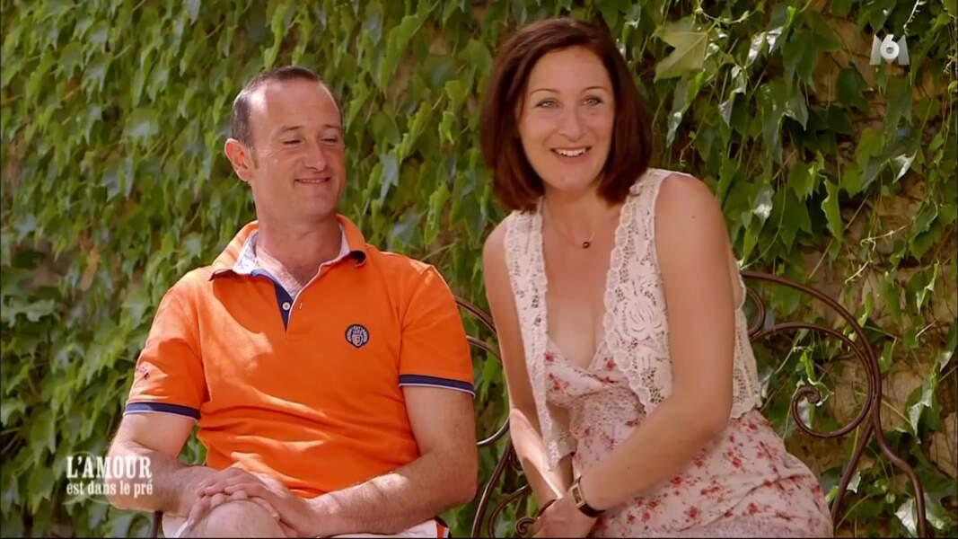 Pierre-Emmanuel et Gwladys avaient eu un véritable coup de coeur en 2017