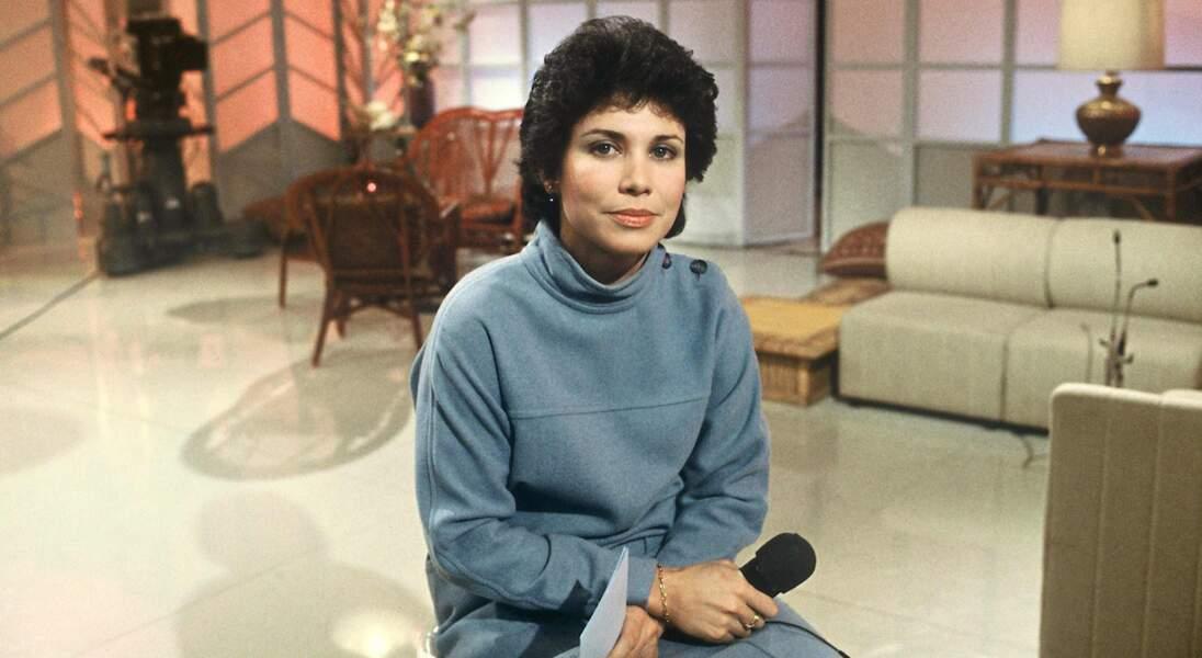 Pas de folie pour les débuts d'Anne Sinclair sur TF1, en 1982...