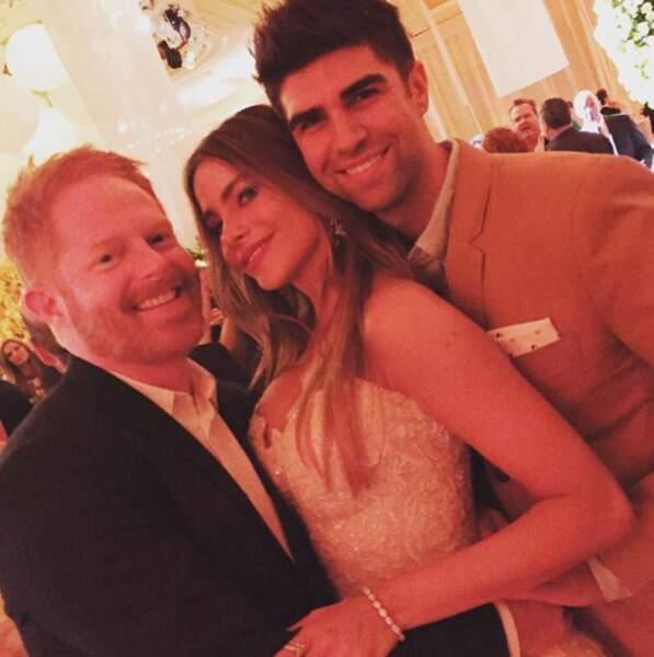 Sofia Vergara a pu compter sur le soutien de ses partenaires de Modern Family