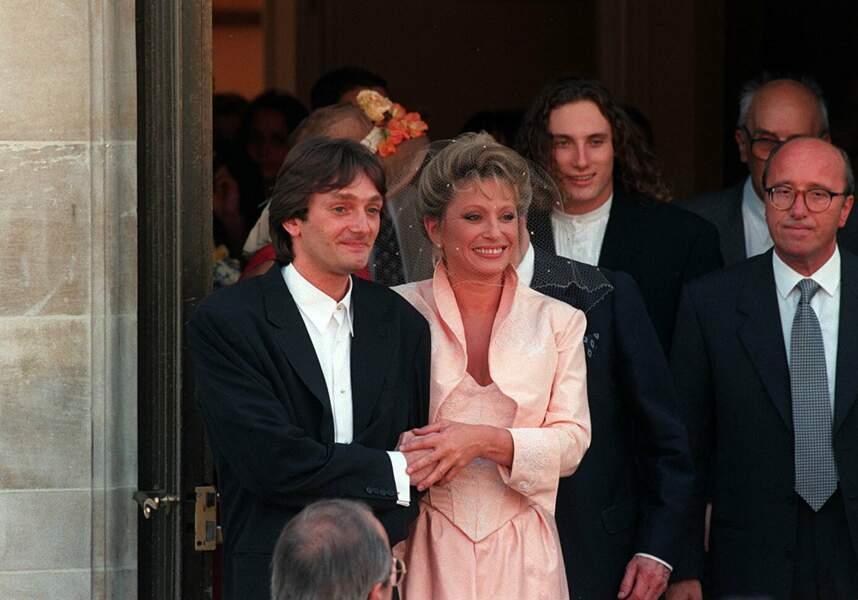 Il n'y a pas que Michel Laroque, il y a aussi Véronique Sanson avec qui il s'est marié