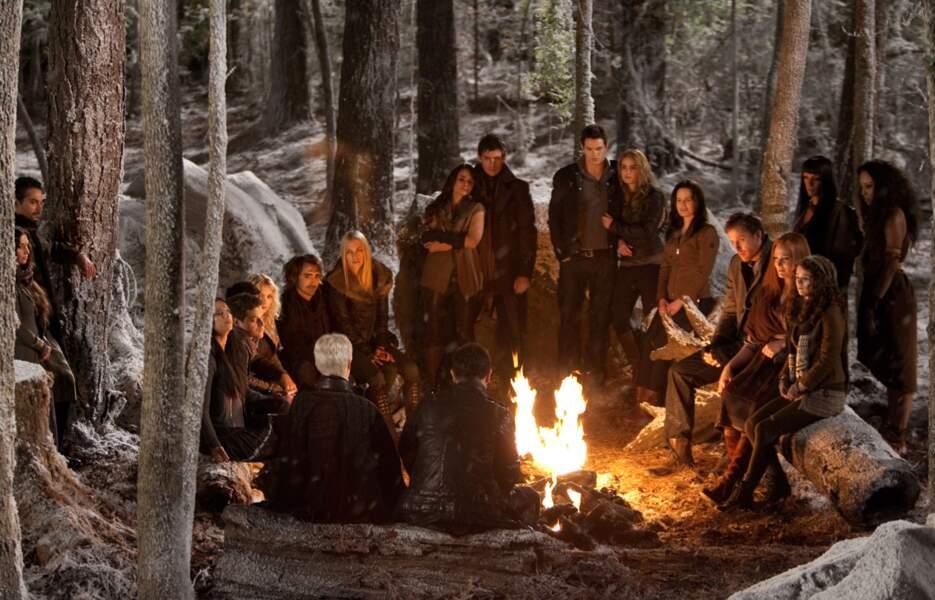 Le clan des Cullen au grand complet