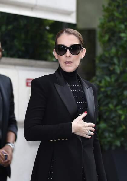 """Céline avait adopté un look """"à la parisienne"""""""