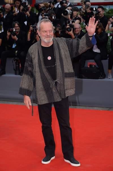 Le Monthy Python Terry Gilliam avait fait le déplacement