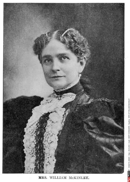 Ida McKinley est la première First Lady à avoir exercé un métier : elle était banquière