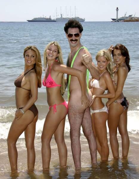 Mais Borat n'a rien à lui envier en même temps !