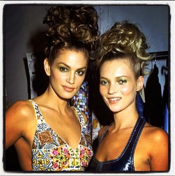 C'était l'époque des top-model stars, comme Kate Moss, qui est restée son amie...