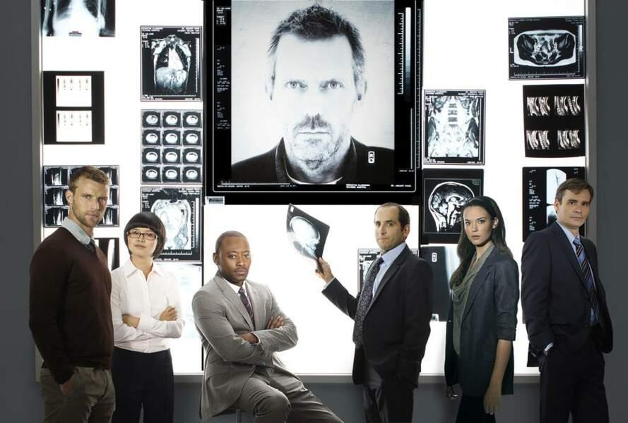 Le cast de la saison 8 avec les petites nouvelles Chi Park et Jessica Adams
