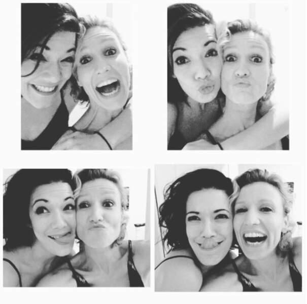 Selfies avec Alexandra Lamy !