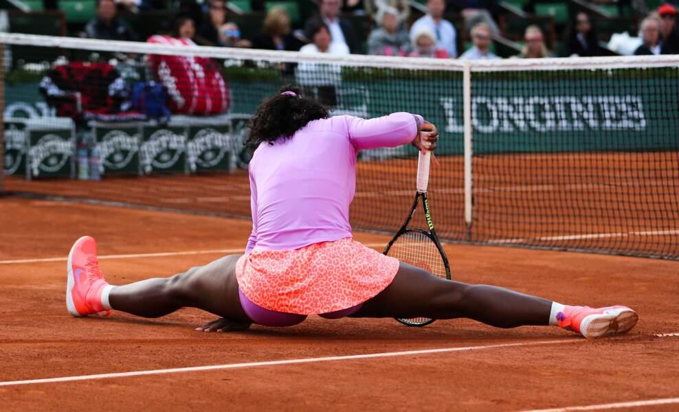 Quelle souplesse, Serena !