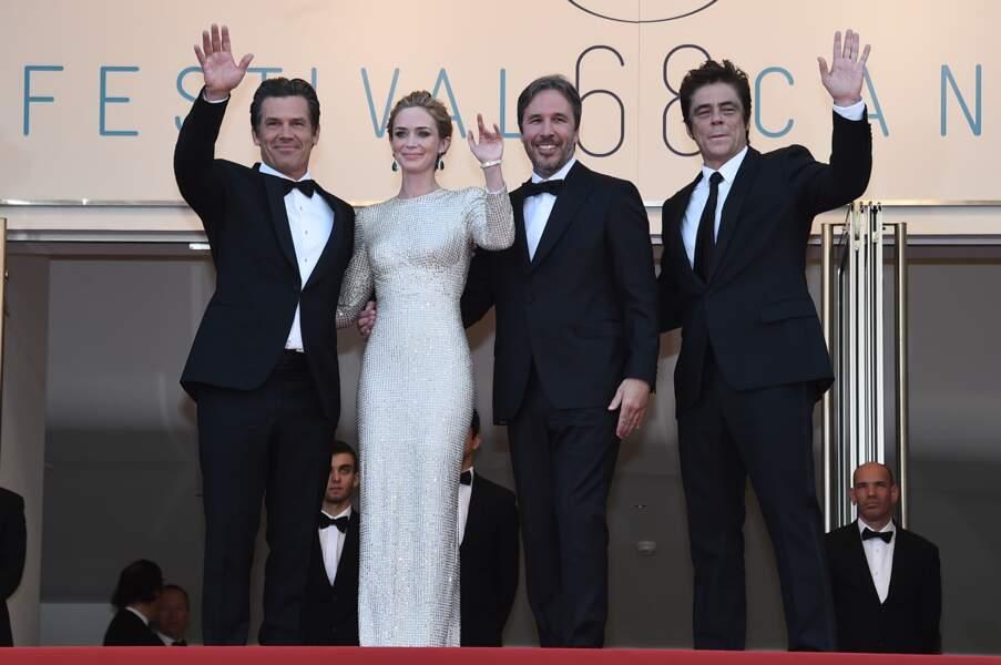 L'équipe du film Sicario sur les marches du Festival de Cannes !