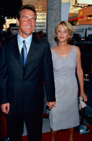 Mariée à l'acteur Dennis Quaid, Meg Ryan rencontre en 1999 Russell Crowe sur le tournage de L'Echange.