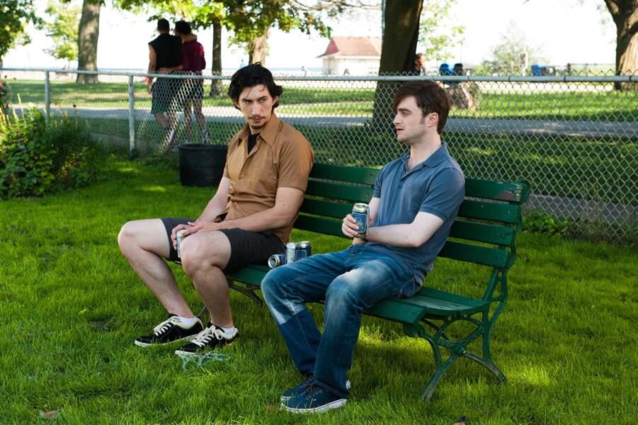 Aux côtés de Daniel Radcliffe dans Et (beaucoup) plus si affinités