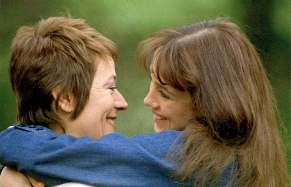 Isabelle Adjani et Annie Girardot dans La gifle (1974).