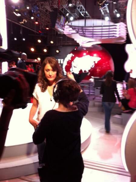 Daniela Lumbroso sur Canal +... Chabadabada