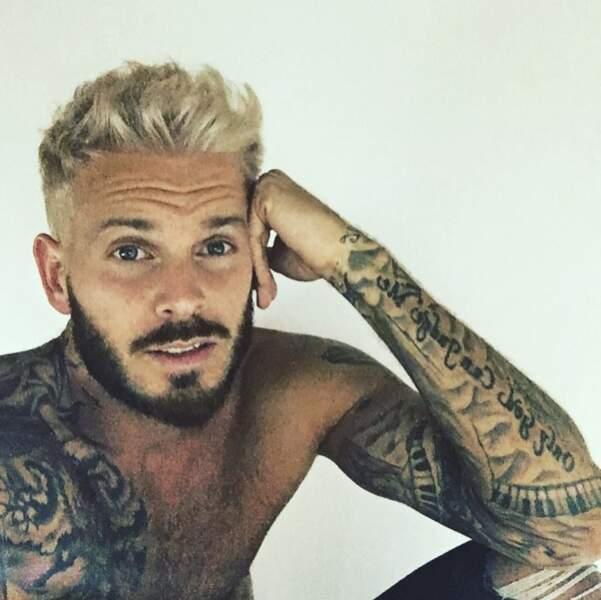 Autres types de photos vivement appréciés par ses fans : ses tatouages...