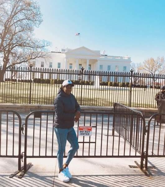 Viviane Asseyi s'invite à la Maison Blanche