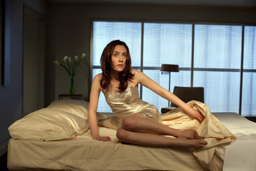 Et la voilà beaucoup plus sensuelle pour Les Âmes Vagabondes, adaptation d'un roman de Stephenie Meyer (Twilight)