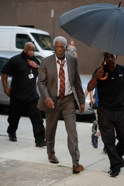 Toujours la grande classe ce Morgan Freeman