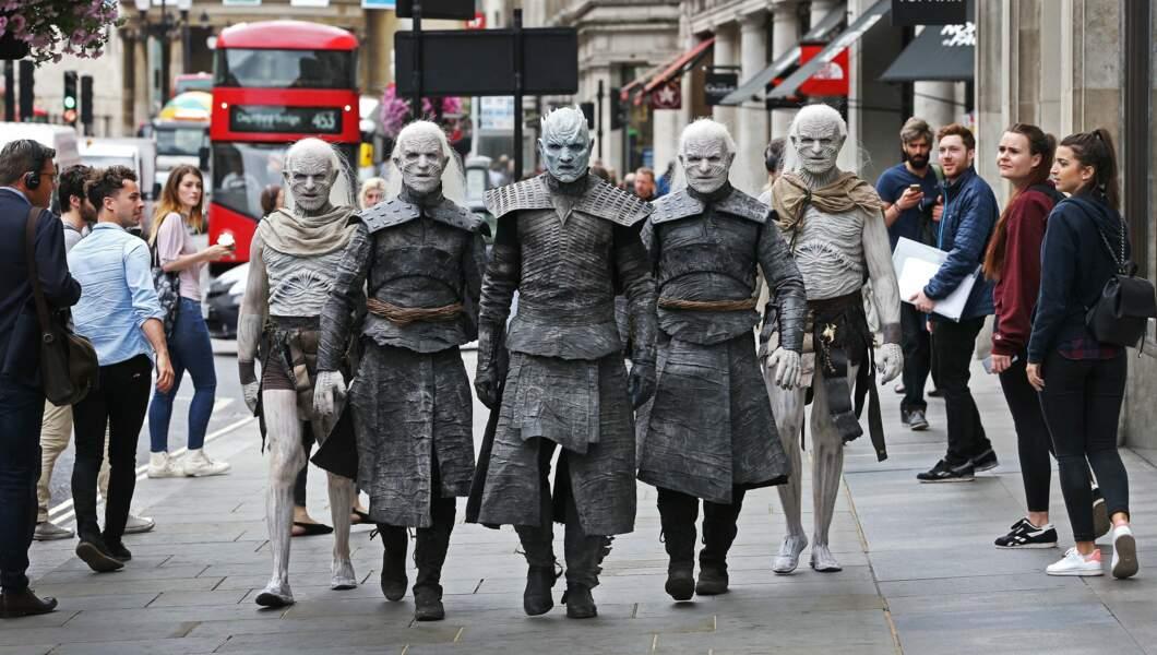 Terreur sur Londres : les Marcheurs blancs arrivent