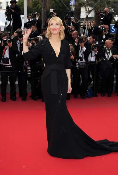 Cate Blanchett a pris la pose devant les photographes !