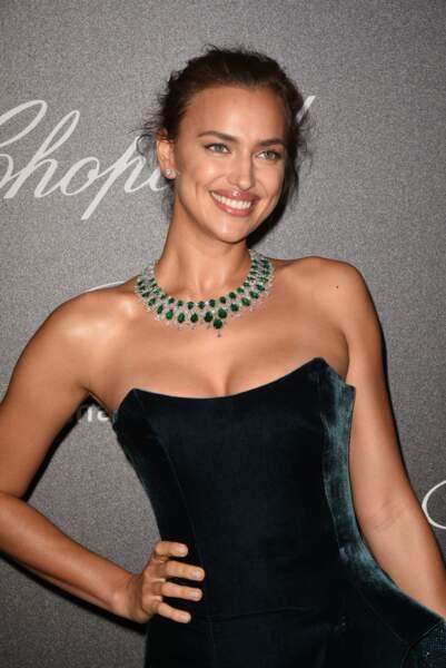 En revanche le sourire d'Irina Shayk, on dit oui !