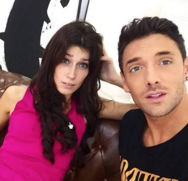 Sophie Vouzelaud et son partenaire Maxime Dereymez lors de la saison 6 (2015)