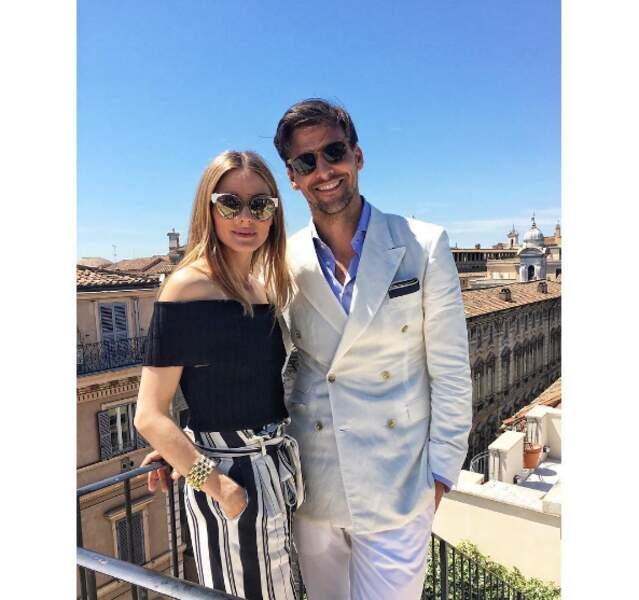 Un couple de BG : Olivia Palermo et Johannes Huebl.
