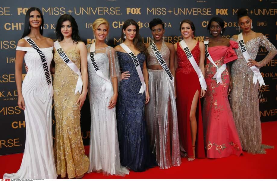 A la fin de son règne, elle part aux Philippines pour concourir au titre de Miss Univers et le 29 janvier 2017...
