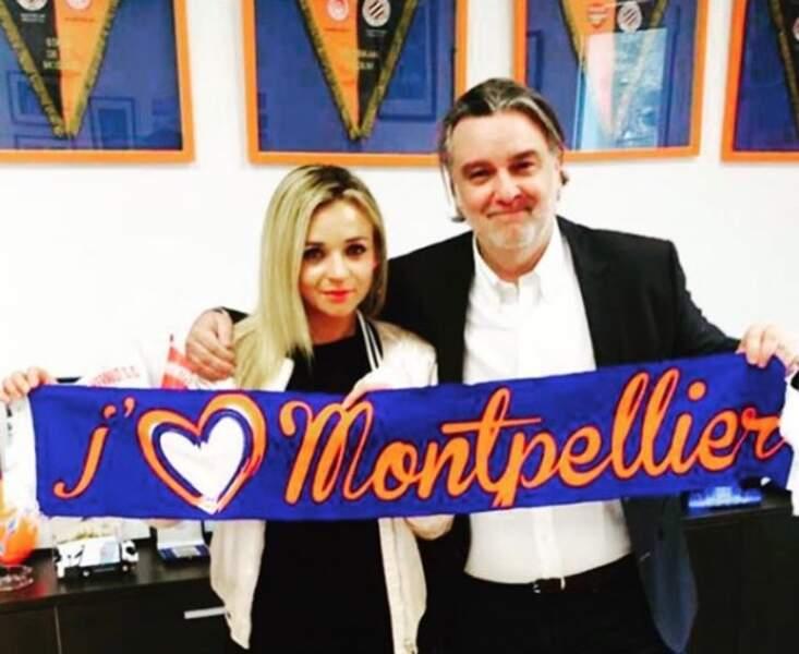 La jeune femme de 27 ans est aussi une des cadres du club de Montpellier