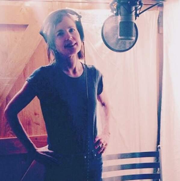 Elizabeth McGovern, alias Cora Crawley dans Downton Abbey, a profité de l'été pour enregistrer un album