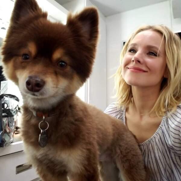 Le meilleur ami de Kristen Bell est beaucoup trop mignon.