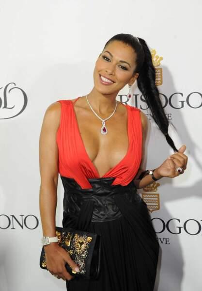 Ayem Nour très sexy à la soirée De Grisogono