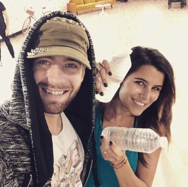 """""""Buvez de l'eau"""" : le slogan de Yann-Alrick et Karine Ferri"""