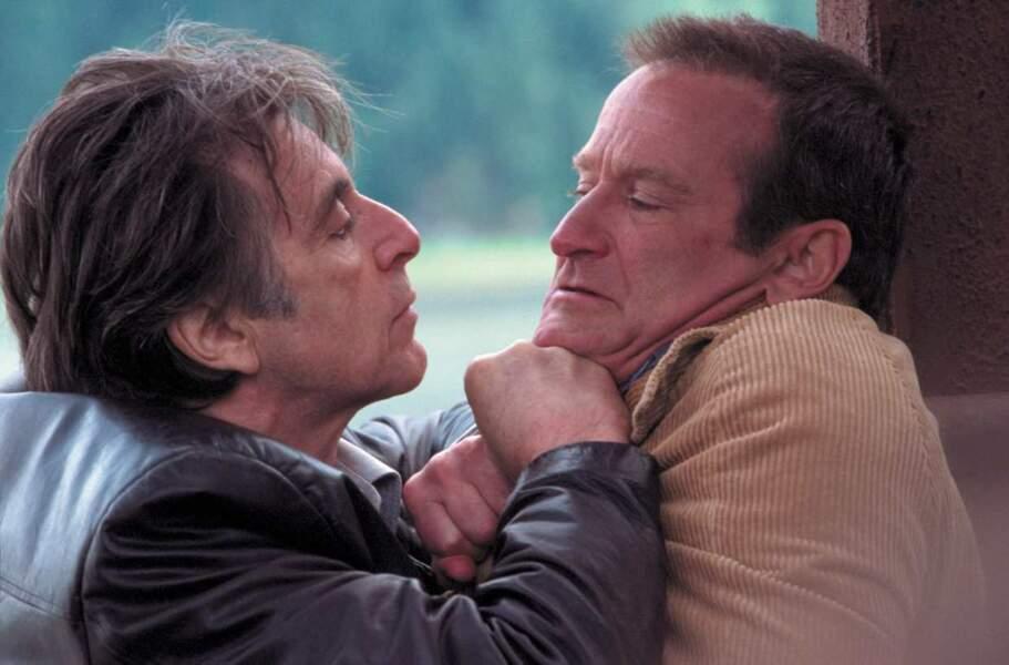 Robin Williams dans Insomnia (avec Al Pacino) en 2002