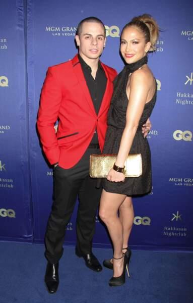 La chanteuse Jennifer Lopez et le danseur Casper Smart, en couple depuis 2011.