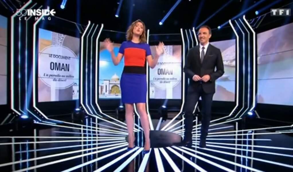 La robe de Sandrine Quétier n'est franchement pas mal non plus