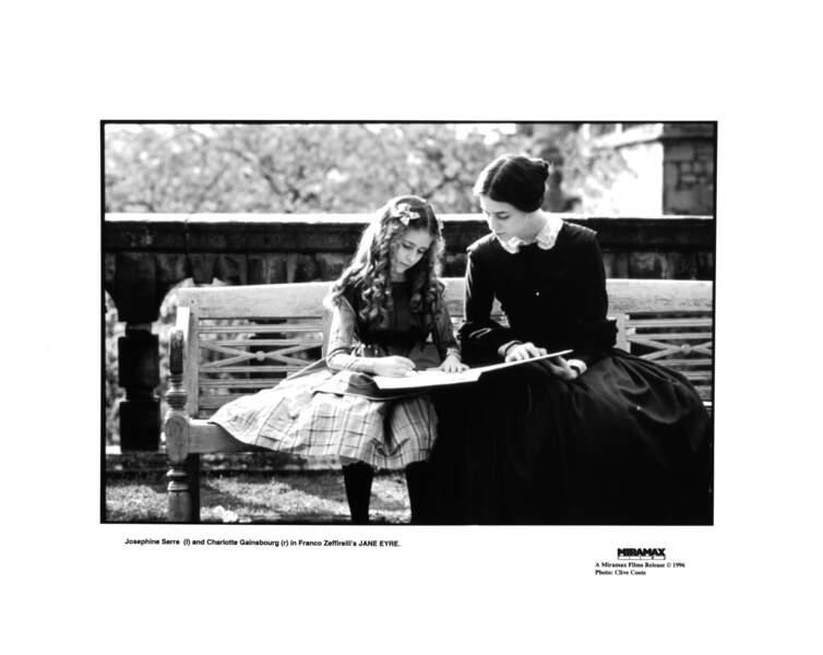 En 1996, elle est aux côtés de Charlotte Gainsbourg dans Jane Eyre