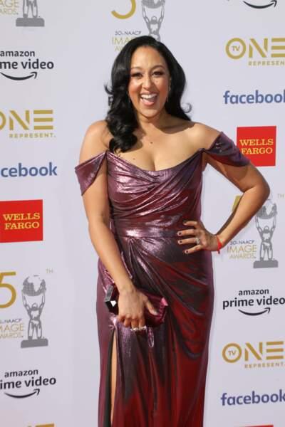Comme sa soeur, Tamera Mowry est toujours actrice et a elle aussi deux enfants