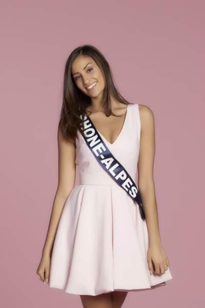 Dalida Benaoudia, Miss Rhône-Alpes